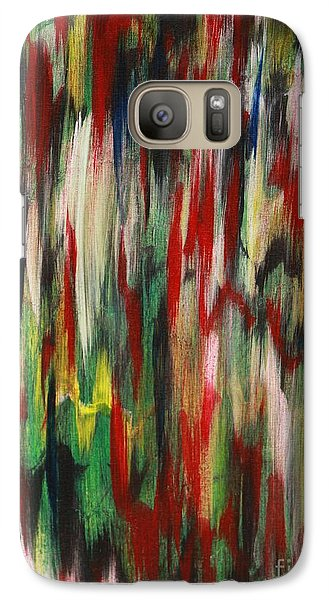 Galaxy Case featuring the painting Agony by Jacqueline Athmann