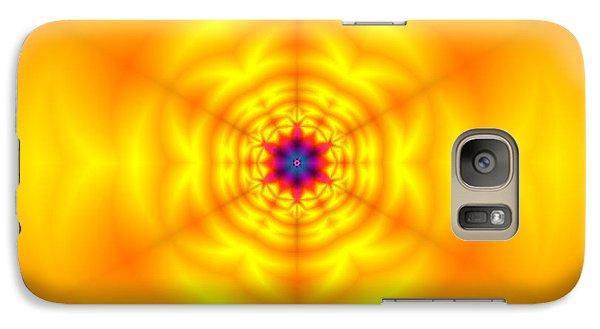 Galaxy Case featuring the digital art Ahau 6 by Robert Thalmeier