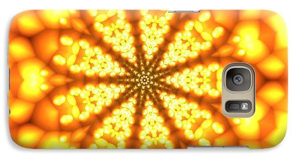 Galaxy Case featuring the digital art Ahau 9 by Robert Thalmeier