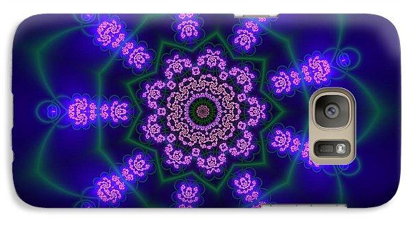 Galaxy Case featuring the digital art Ahau 9.1 by Robert Thalmeier