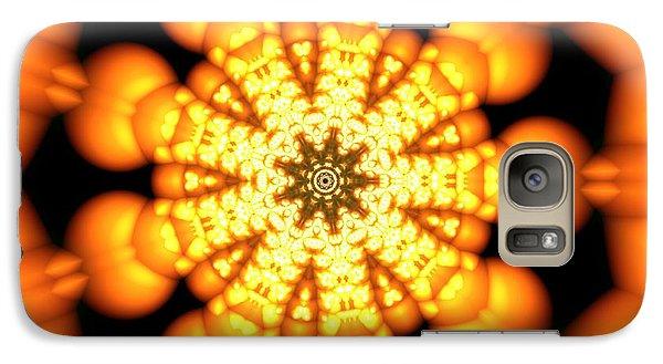 Galaxy Case featuring the digital art Ahau 9.2 by Robert Thalmeier