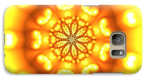 Galaxy Case featuring the digital art Ahau 9.3 by Robert Thalmeier