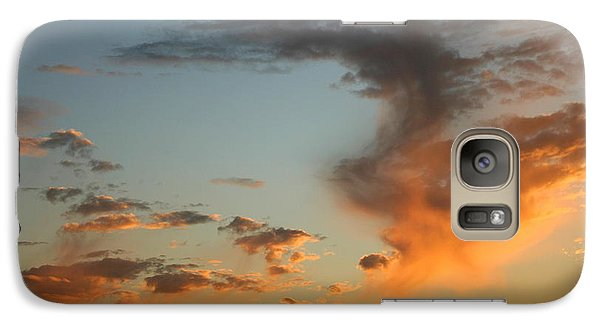 Galaxy Case featuring the photograph Air Ball Cough by Marie Neder
