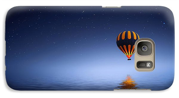 Galaxy Case featuring the photograph Air Ballon by Bess Hamiti