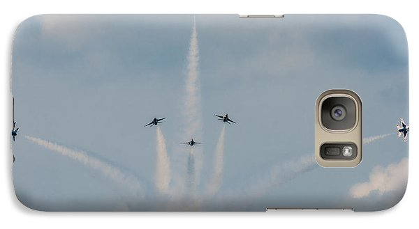 Galaxy Case featuring the photograph Air Force Thunderbirds by Linda Constant