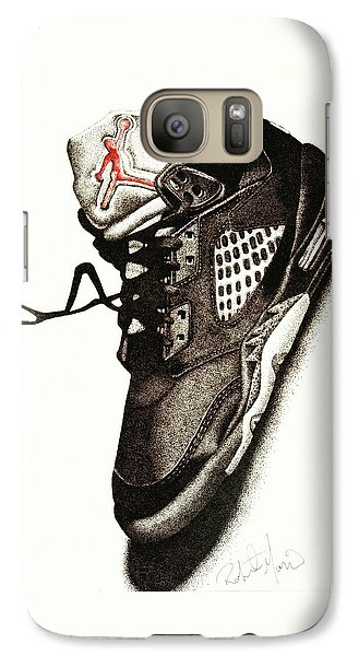 Air Jordan Galaxy Case by Robert Morin