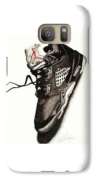 Athletes Galaxy S7 Case - Air Jordan by Robert Morin