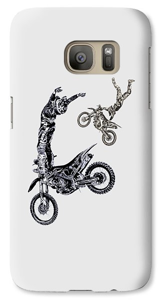 Galaxy Case featuring the photograph Air Riders by Caitlyn Grasso
