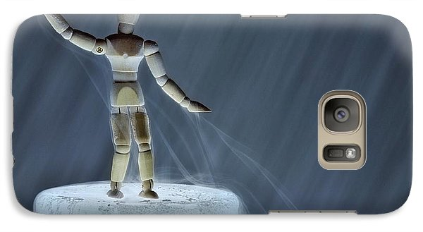 Galaxy Case featuring the photograph Airbender by Mark Fuller