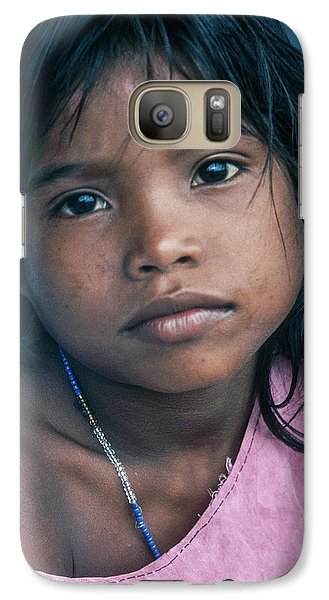 Galaxy Case featuring the photograph Aita by Tina Manley