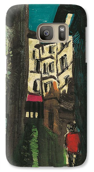 Galaxy Case featuring the painting Aix En Provence Street by Martin Stankewitz
