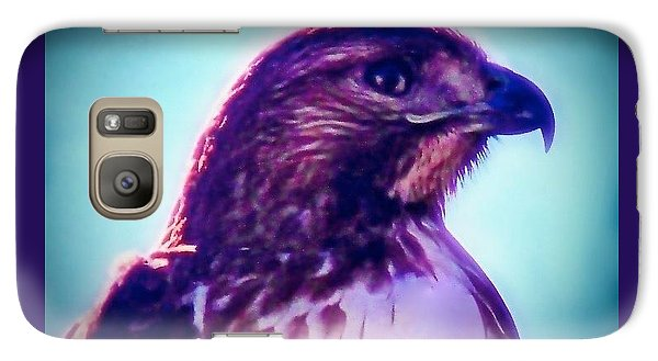 Ak-chin Red-tailed Hawk Portrait Galaxy S7 Case