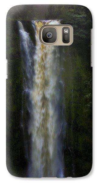 Galaxy Case featuring the photograph Akaka Falls by Ellen Heaverlo