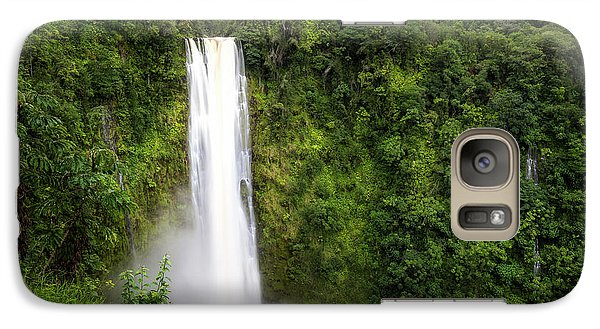 Galaxy Case featuring the photograph Akaka Falls by Ryan Manuel