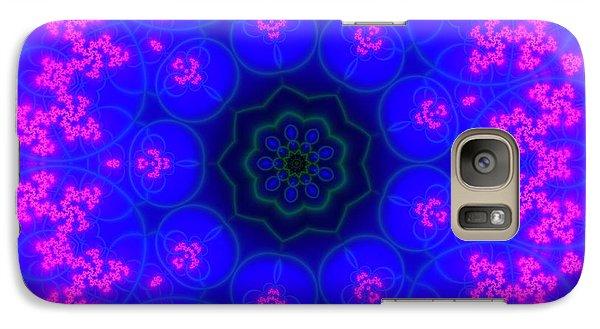 Galaxy Case featuring the digital art Akbal 9 Beats 2 by Robert Thalmeier