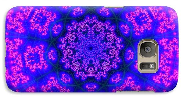 Galaxy Case featuring the digital art Akbal 9 Beats 4 by Robert Thalmeier