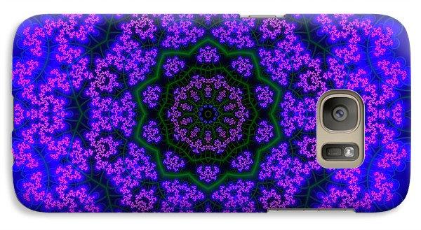 Galaxy Case featuring the digital art Akbal 9 .4 by Robert Thalmeier