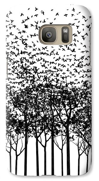 Aki Monochrome Galaxy S7 Case by Cynthia Decker