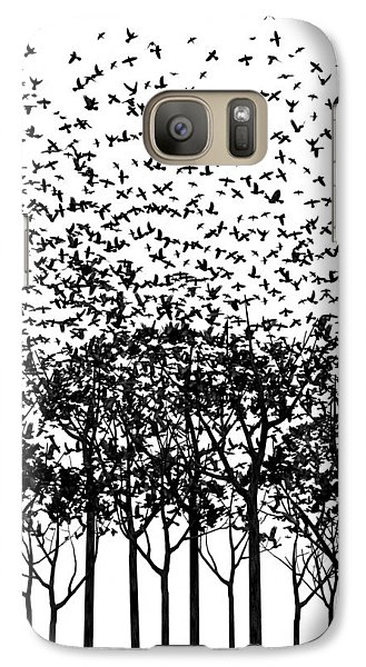 Aki Monochrome Galaxy Case by Cynthia Decker