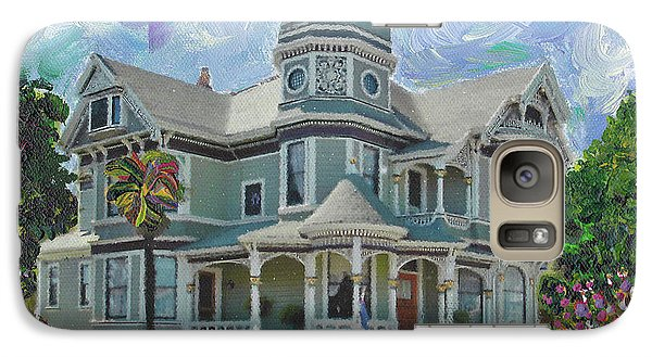 Galaxy Case featuring the painting Alameda 1893  Queen Anne  by Linda Weinstock