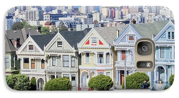 Galaxy Case featuring the photograph Alamo Square by Matthew Bamberg