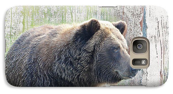 Galaxy Case featuring the photograph Alaska Brown Bear  by Dyle   Warren