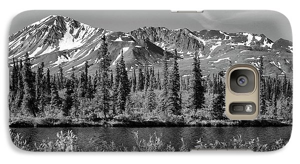 Galaxy Case featuring the photograph Alaska Mountains by Zawhaus Photography