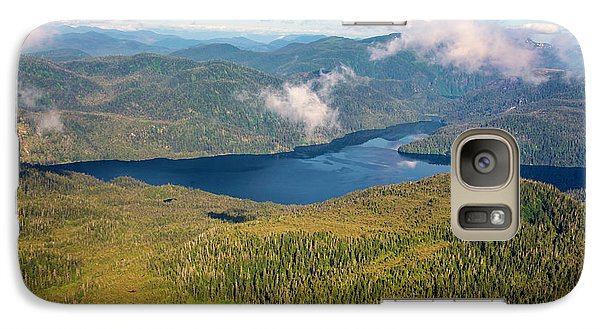 Galaxy Case featuring the photograph Alaska Overview by Madeline Ellis