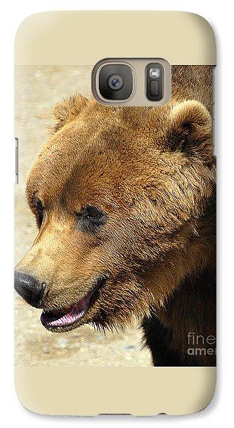 Galaxy Case featuring the photograph Alaskan Brown Bear by Diane E Berry