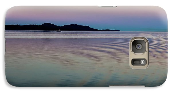 Alaskan Sunset At Sea Galaxy S7 Case