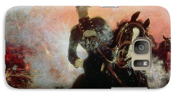 Albert I King Of The Belgians In The First World War Galaxy S7 Case by Ilya Efimovich Repin