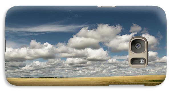 Galaxy Case featuring the photograph Alberta Skies by Debby Herold