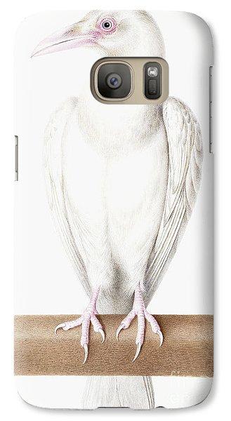 Albino Crow Galaxy S7 Case by Nicolas Robert
