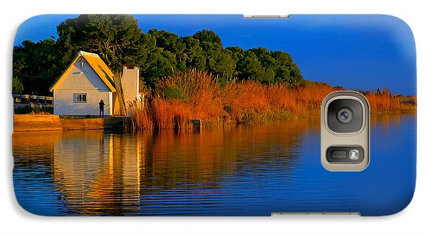 Albufera Blue. Valencia. Spain Galaxy S7 Case