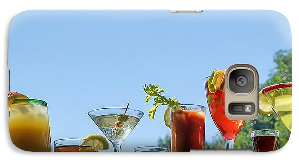 Alcoholic Beverages - Outdoor Bar Galaxy S7 Case