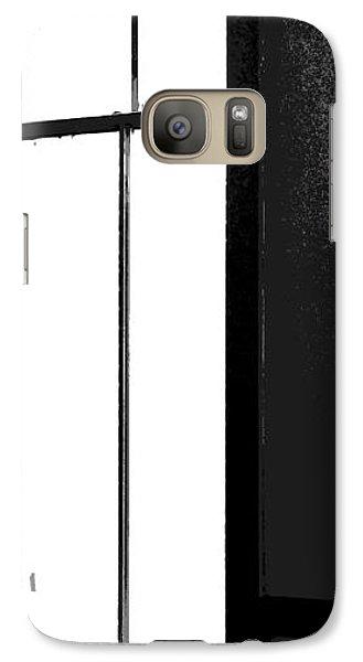 Galaxy Case featuring the photograph Alex Alone by Robert D McBain