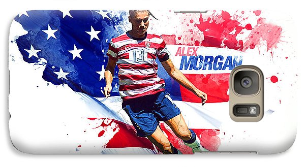 Alex Morgan Galaxy S7 Case by Semih Yurdabak