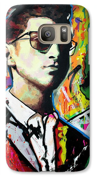 Galaxy Case featuring the painting Alex Turner by Richard Day