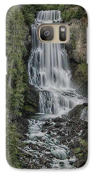 Galaxy Case featuring the photograph Alexander Falls by Stephen Stookey