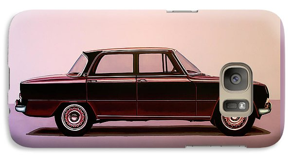 Spider Galaxy S7 Case - Alfa Romeo Giulia Super 1967 Painting by Paul Meijering