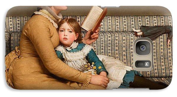 Alice In Wonderland Galaxy Case by George Dunlop Leslie