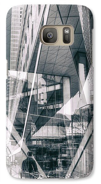 Galaxy Case featuring the photograph Alice Tully Hall by Dave Beckerman