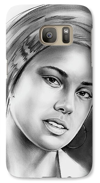 Rhythm And Blues Galaxy S7 Case - Alicia Keys 2 by Greg Joens