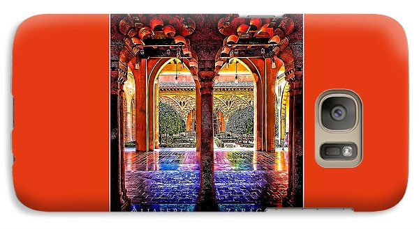 Galaxy Case featuring the photograph Aljaferia Coloratura by Jack Torcello