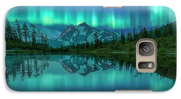 Galaxy Case featuring the photograph All In My Mind by Jon Glaser