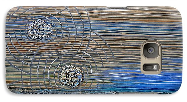 Galaxy Case featuring the painting All Nature Sings by Suzanne McKee