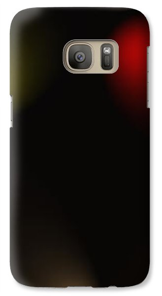 Galaxy Case featuring the digital art All Of The Colors Of Light by Saad Hasnain