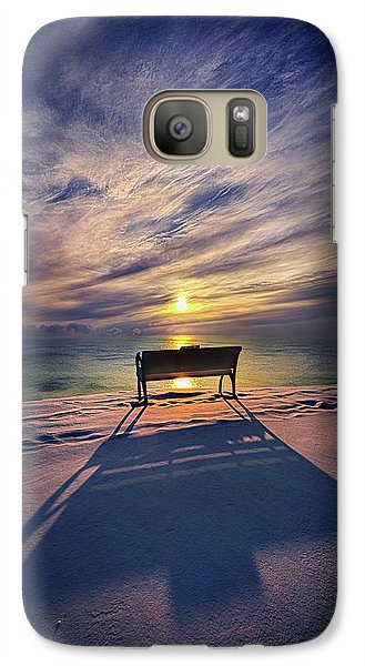 Galaxy Case featuring the photograph All Shadows Chase Swift by Phil Koch