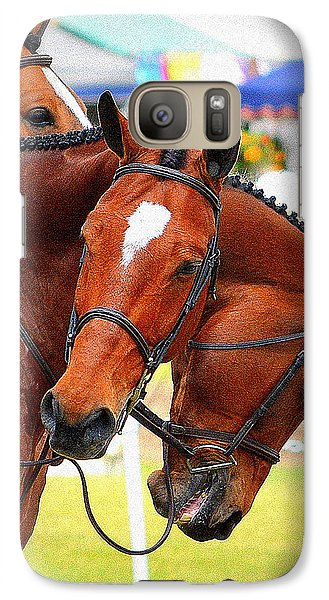 Galaxy Case featuring the photograph All Tangled Up by Barbara Dudley