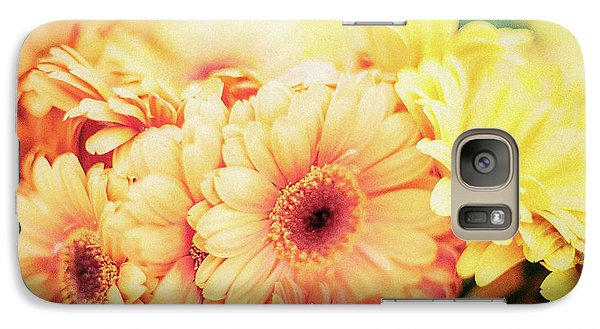 Galaxy S7 Case featuring the photograph All The Daisies by Ana V Ramirez